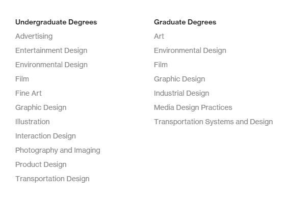 ACCD留学,交通工具设计留学,娱乐设计留学,艺术留学作品集,ACCD作品集,艺术中心设计学院留学